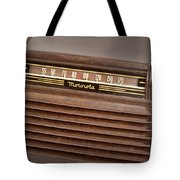 The Days Of Radio Tote Bag