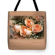 The Days Of Wine And Roses Tote Bag