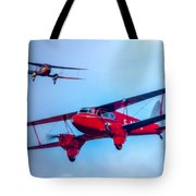 The De Havilland Dh90 Dragonfly Tote Bag