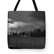 The Dead Lie Here Tote Bag