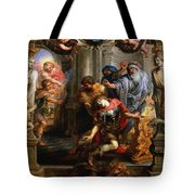 The Death Of Achilles Tote Bag