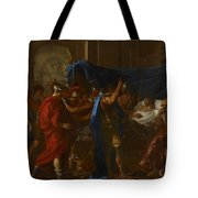 The Death Of Germanicus Tote Bag by Nicolas Poussin