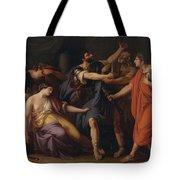 The Death Of Lucretia Tote Bag