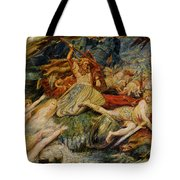 The Death Of Siegfried Tote Bag