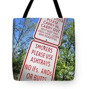The Death Of The Messy Smoking Fisherman Tote Bag