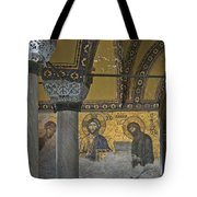 The Deesis Mosaic At Hagia Sophia Tote Bag