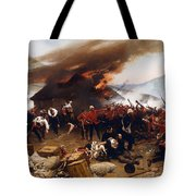 The Defence Of Rorke's Drift 1879 Tote Bag