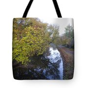 The Delaware Canal In Morrisville Pa Tote Bag