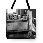 The Delft Marquette Mi Tote Bag