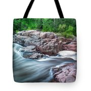 The Dells Of The Eau Claire River  Tote Bag