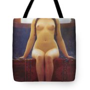 The Delphic Oracle Detail Tote Bag