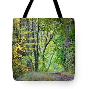 The Dense Forest Tote Bag