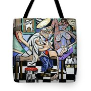The Dentist Is In Tote Bag by Anthony Falbo