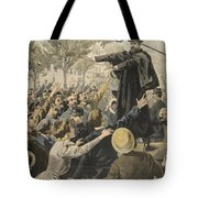 The Deroulede Meeting At The Exit Tote Bag