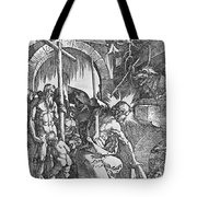 The Descent Of Christ Into Limbo Tote Bag by Albrecht Duerer