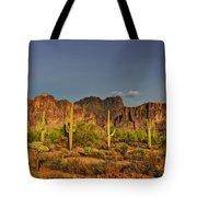 The Desert Aglow Tote Bag
