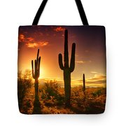 The Desert Awakens  Tote Bag