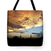 The Desert Sky  Tote Bag