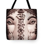 The Destroyer Of Obstacles Tote Bag by Tim Gainey