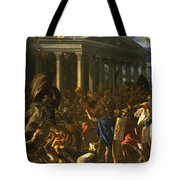 The Destruction And The Sack Tote Bag