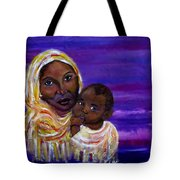 The Devotion Of A Mother's Love Tote Bag