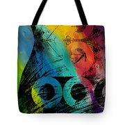 The Diagram Abstract Art  Tote Bag