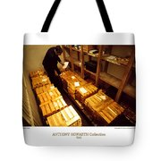 Anthony Howarth Collection - Gold- The Diligent Clerk Tote Bag