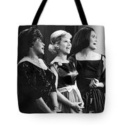 The Dinah Shore Chevy Show Tote Bag