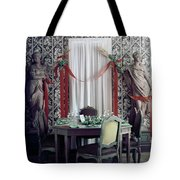 The Dining Room In James A. Beard's Home Tote Bag
