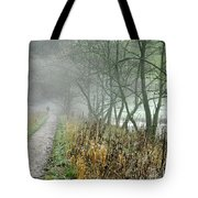 The Disappearing Man - Wolfscote Dale Tote Bag