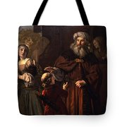 The Dismissal Of Hagar, 1650 Tote Bag