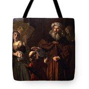 The Dismissal Of Hagar, 1650 Tote Bag
