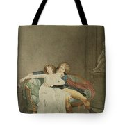 The Dispute Of The Rose, Engraving Tote Bag
