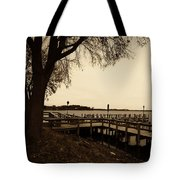 The Docks On Lake Minnetonka Tote Bag