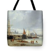 The Docks On The Bank At Greenwich  Tote Bag