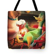 The Dog & Duck Tote Bag