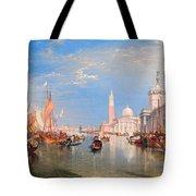 The Dogana And San Giorgio Maggiore Tote Bag