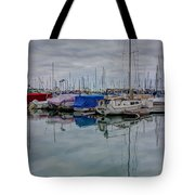 The Doghouse Tote Bag by Heidi Smith