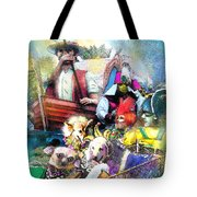 The Dogs Parade In New Orleans Tote Bag