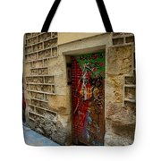 The Door And The Wonderful Wall Tote Bag