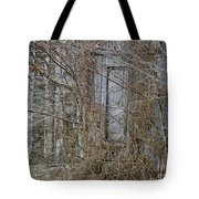 The Door To The Past Tote Bag by Wilma  Birdwell
