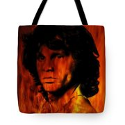 The Doors Light My Fire Tote Bag