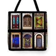 The Doors Of Yemen Tote Bag