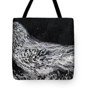 The Dove - Oil Portrait Tote Bag