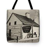 The Downingtown Log House  Tote Bag