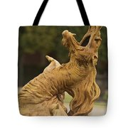 The Dragon Fountain Of Versailles  Tote Bag