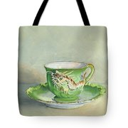 The Dragon Teacup Tote Bag