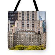 The Drake Hotel In Downtown Chicago Tote Bag