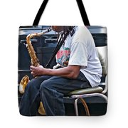 The Dreaded Sax Tote Bag