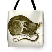 The Dreaming Mouse Tote Bag